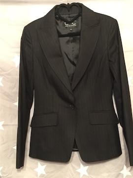 C DE C スーツ上下 裏地付き 薄いストライプ