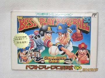 新品 レアファミコンソフト ベストプレープロ'90
