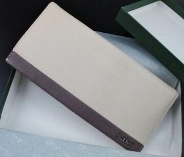 新品☆箱付 ポールスミス カラーブライトゴート 長財布 n57