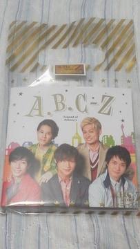 貴重ABC-Z 2018 ジャニーズ伝説レコードメモ顔写真入リ新品必見