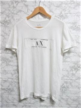 ☆ARMANI EXCHANGE アルマーニエクスチェンジ ボックスロゴ Tシャツ 半袖/メンズ/XS