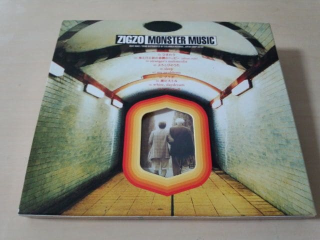ZIGZO CD「MONSTER MUSIC」ジグゾ 初回盤● < タレントグッズの