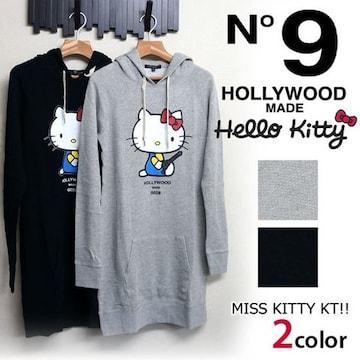 ◆新品◆15,540円◆Hollywoodmade◆キティ◆黒◆限定!!