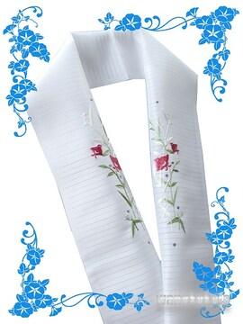 【和の志】日本製◇夏物刺繍半襟◇千鳥柄◇PRSH-161