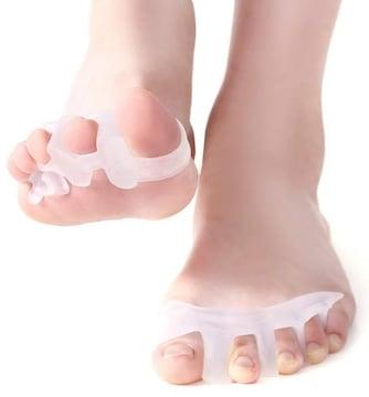 足指サポーター 足指を広げる 外反母趾 足指矯正パッド