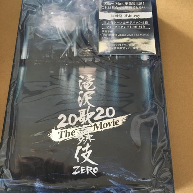 即決 Snow Man 滝沢歌舞伎 ZERO 2020 2Blu-ray 初回盤 新品  < タレントグッズの