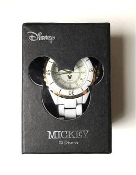 【送料無料】ディズニー キャラクター腕時計 (ミッキーマウス)