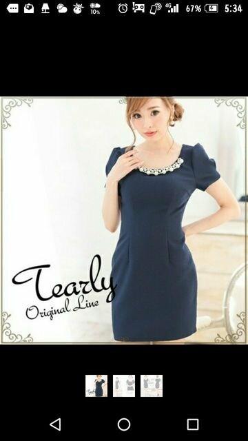 Tearlyドレス*キャバ  < 女性ファッションの