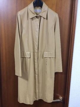 スピック&スパン☆ベージュレザーコート