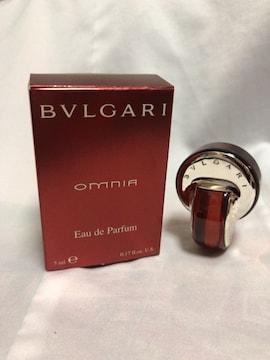BVLGARI ブルガリ omunia オムニア 激レア香水 5ml 新品未使用