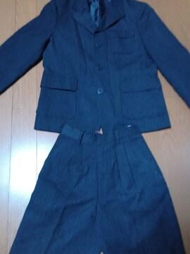 120cm 入園 卒園 スーツ 男児 クリーニング済 セットアッ