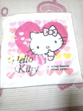 キティちゃんハンドタオル2枚セット