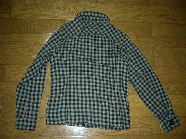 新品JOYRICHジョイリッチチェックシャツジャケットM < ブランドの