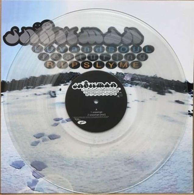 初期の激レア貴重盤 RIP SLYME リップスライム 「SNOW MAN」 < CD/DVD/ビデオの