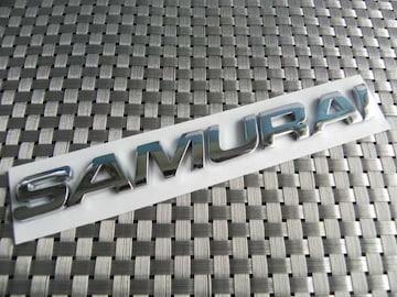 輸入品SAMURAI サムライ 3Dエンブレム☆ジムニー☆ステッカー