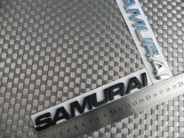 輸入品SAMURAI サムライ 3Dエンブレム☆ジムニー☆ステッカー < 自動車/バイク