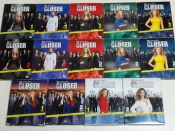 DVD[海外ドラマ/完結]THE CLOSER/ザ クローザー  コンパクトBOX全7シーズン
