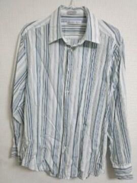 ジェフリー ストライプシャツ
