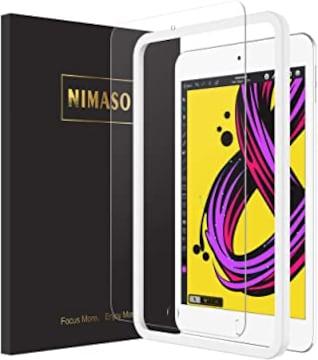 【ガイド枠付き】Nimaso iPad mini 2019 / iPad mini5 / iPad m
