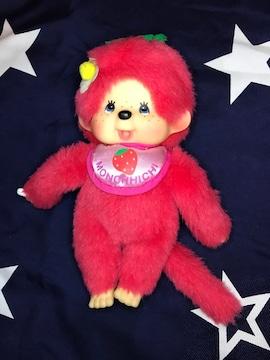 モンチッチ  S size いちごちゃん ご当地限定品 ピンク 新品