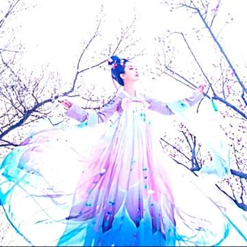 新品 漢服 コスプレ衣装 舞台&撮影&学園祭&お祭りなど7点セット