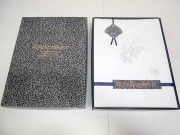 Royal Renaissance フラノシーツ 花柄 白 150cm×250cm 綿100%