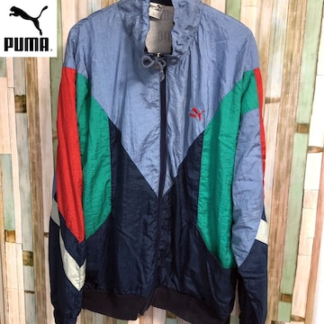 80's PUMA トラックジャケット