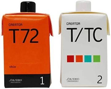 資生堂 クリエイター T72(プロ用パーマ液・1剤、2剤各400ml