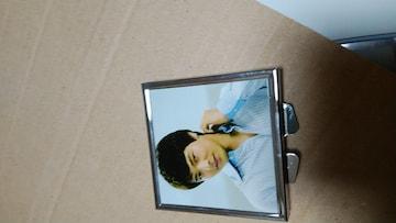 ☆パク・ヨンハ☆□型写真入りコンパクトミラー