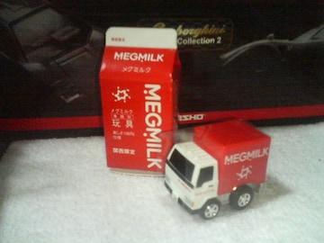 関西限定  メグミルク配送トラック