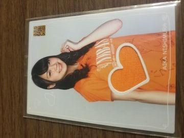 NMB48 西村愛華 コスチュームカード