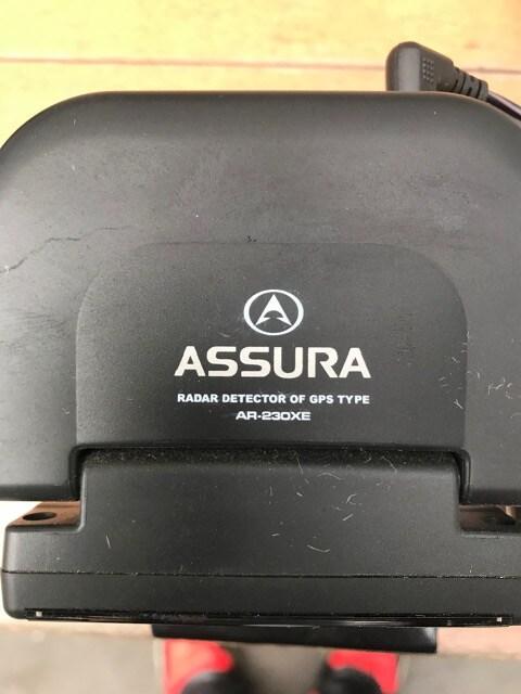 ASSURA AR-230XE GPSタイプ 動作確認済み < 自動車/バイク
