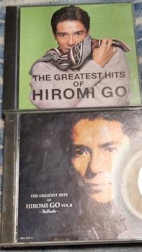 郷ひろみ THE GREATEST HITS�T&�U 2枚組ベスト2枚セット 難あり
