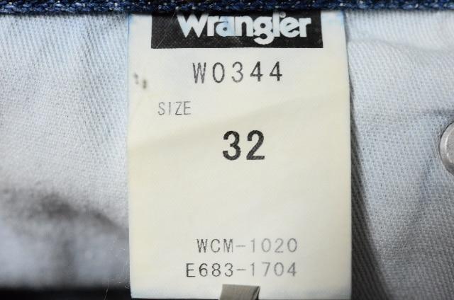 W32ラングラーW0344 ストレートブロークンTwillデニム < ブランドの