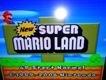 New SUPER MARIO LAND カセットのみ