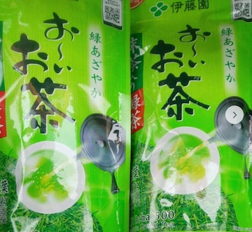 おーいお茶抹茶入り緑茶 500 2袋