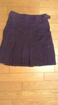 ZUCCA◇プリーツスカート 黒