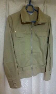 ジャケットコート 袖ロールアップサイズM9R 同梱NG
