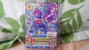 アイカツ☆新品☆サマーデイムーンドレス☆サイン入り☆第4弾CP