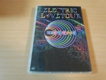 BIGBANG DVD「ELECTRIC LOVE TOUR 2010」韓国K-POP●