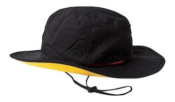 ハット 帽子 撥水 防汚 あご紐 メンズ レディース ブラック2