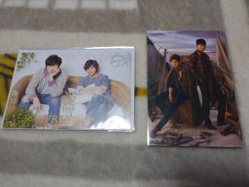 *☆東方神起☆LIVE TOUR TONE★TOMORROWポストカード2枚♪