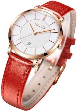 シンプルでファッショナブルなクォーツ腕時計