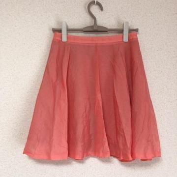 ロペピクニック きれい色フレアスカート ピンク Rope Picnic♪