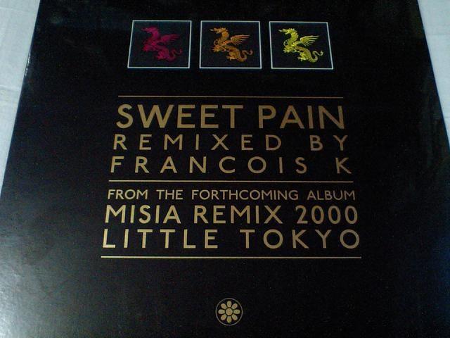 即決 ミーシャMisia「SWEET PAIN」 FRANCOIS-K REMIX 限定アナログ盤  < CD/DVD/ビデオの