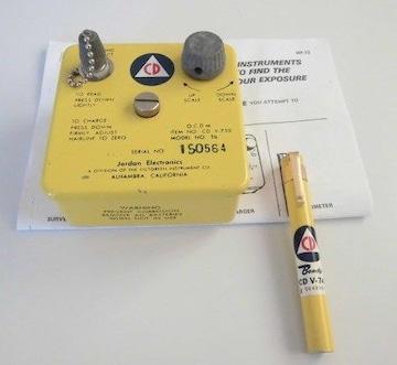 放射線量計電荷器 ドシメーター&ドシメーターチャージャー