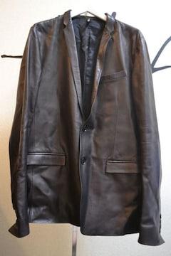 diorhommeディオールオム レザーナローテーラードジャケット