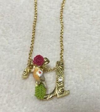 レネレイド☆u小鳥薔薇リボンネックレス