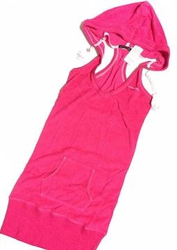 新品<ピンクパーカー>aimerfeel/エメフィール(ワンピースCP)定価3675
