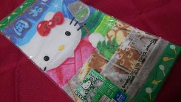 新品未使用ご当地キティハンドタオル★静岡おでんキティ